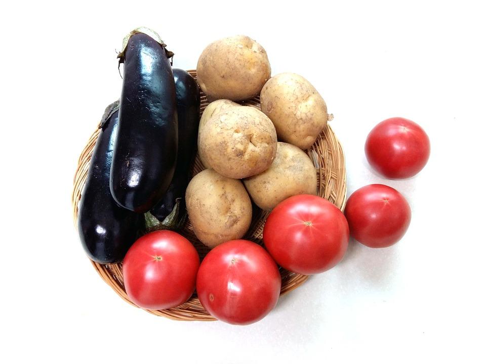 patate pomidoro melanzane